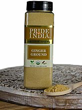 Pride Of India- Ginger Fine Ground- 18 oz (510 gm)