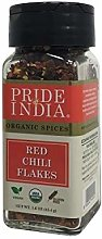 Pride Of India - Organic Red Chili Flakes Hot -