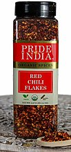 Pride Of India - Red Chili Flakes Hot - 14 oz (396
