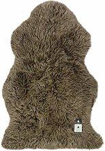 Prillys Pantry Genuine Sheepskin Rug | Curly Deep