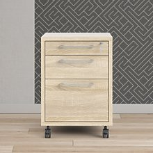 Prima Mobile file cabinet in Oak