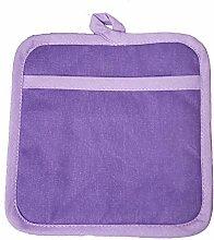 Prime Homewares Plain Purple Design Pot Holder,