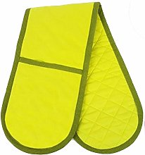 PRIME Homewares Solid Lime Green Double Oven Glove