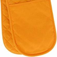 PRIME Homewares Solid Orange Double Oven Glove