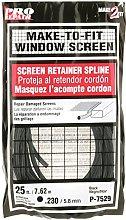 PRIME-LINE P 7529 Screen Retainer Spline, Black,