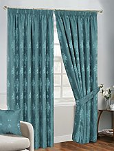 Prime Linens FULLY LINED PENCIL PLEAT JACQUARD