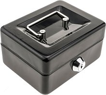 PrimeMatik - Portable metal cash box for bank