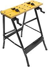 PrimeMatik - Work bench with adjustable clamps.