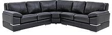 Primo Italian Leather Corner Group Sofa