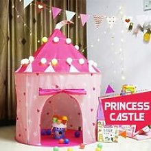 Prince Princess Kid Castle Play Tent Outdoor