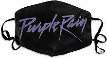 Prince Purple Rain Adjustable Earloop Comfortable
