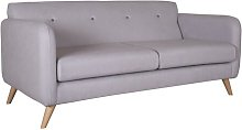 Princess 3 Seater Sofa Isabelline Upholstery