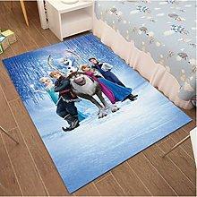 Princess Aisha Cartoon Frozen Carpet Living Room