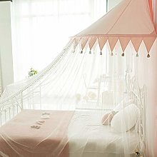 Princess Girls Bed Canopy Lace Crib Canopy With