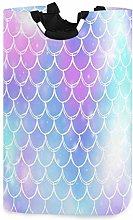 Princess Mermaid Kawaii Rainbow Scales Laundry
