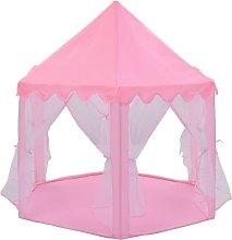 Princess Play Tent Pink - Pink - Vidaxl