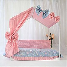 Princess Tent Bed House for Washable Summer Pet