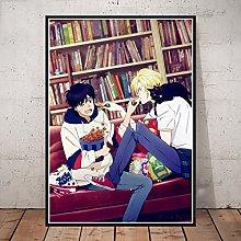 Print On Canvas Banana Fish Anime Poster Canvas