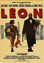 Print on canvas wall art leon the professional