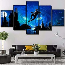 Print Painting Canvas 5 Pieces Canvas Wall Art
