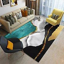 Printed Carpet Rug for Living Room Bedroom Large