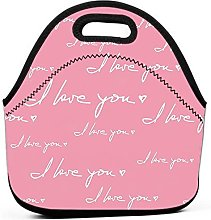 Printed Insulated School Picnic Thermal Carrying
