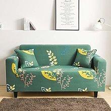 Printed Sofa Cover - Abstract Minimalistic Yellow