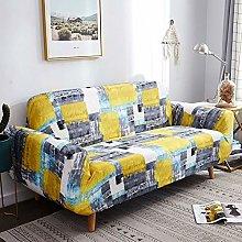 Printed Stretch Sofa Cover for 1/2/3/4