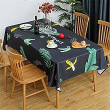Printed Tablecloth Living Room Tablecloth