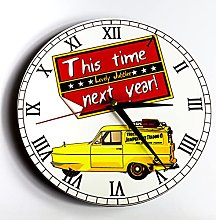 Printed Wall Clock Only Fools and Horses, This