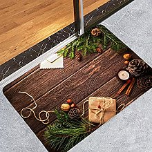 Printing Christmas Tree Carpet Christmas Doormat