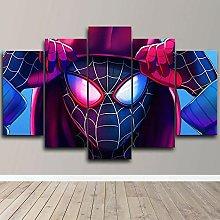 prints on canvas 5 piece Print Wall Art Spider Man