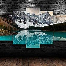 Prints On Canvas 5 Piece Wall Art Print Canvas
