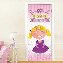 Prinzessinnen Zimmer Door Sticker East Urban Home