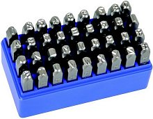 Priory 180 Set 0-9 Number Punch 2mm