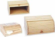 Privilege Wooden Bread Bin