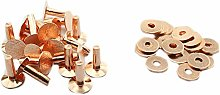 Pro Bamboo Kitchen Copper Rivet 20PCS #12 9/16Inch