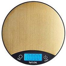 Pro Brass Finish Digital Dual Kitchen Scale