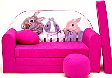 Pro Cosmo H25 Kids Sofa Bed Futon with