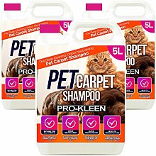 Pro-Kleen 3 x 5 Litres Pet Odour Remover