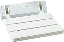 Pro Shower Seat Bathing Aid Wall Hung White Heavy