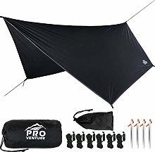 Pro Venture [12ft Hex] Waterproof Hammock Rain Fly