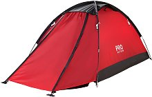 ProAction 2 Man 1 Room Dome Camping Tent with Porch