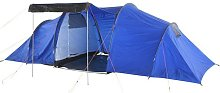 ProAction 6 Man 2 Room Tunnel Camping Tent