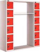 Probe 12 Door Archway Lockers Type B, 31wx31dx178h
