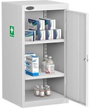 Probe Medical Cabinets, 2 Shelf - 46wx46dx89h