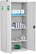 Probe Medical Cabinets, 3 Shelf - 92wx46dx178h