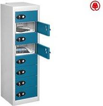 Probe Multi Door Tablet Charging Lockers, Blue