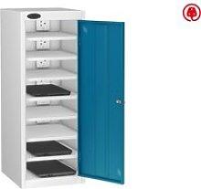 Probe Single Door Laptop Charging Lockers, Blue