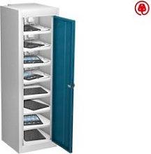 Probe Single Door Tablet Charging Lockers, Blue